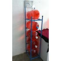 Exhibidor Para Purificadoras De Agua, Rack Para Garrafones