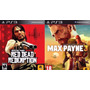 Max Payne 3 + Red Dead Redemption Ps3