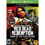 Red Dead Redemption Game Of The Year Xbox Nuevo Envio Gratis