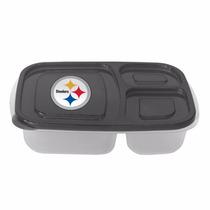 Recipiente Plástico Porta Alimentos Steelers Pittsburgh