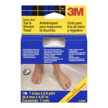 Rollo Antiderrapante Transparente Para El Baño 1 X5yd 3m