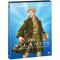 Atlantis El Imperio Perdido Clasicos Disney , Pelicula Dvd