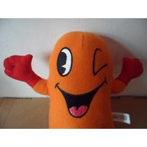 Peluche Pac Man Fantasma Naranja Orange Videogame Juego