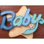 Recuerdo Para Baby Shower Centro De Mesa