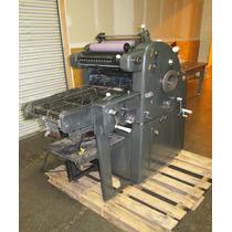 Maquina Para Imprenta Abdick Oficio Original