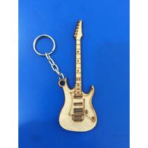 Llavero Guitarra Eléctrica Mdf 3mms