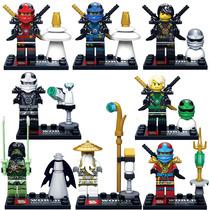 Set Sw6 Zane Kai Jay Lloyd Cole Minifiguras Ninjago