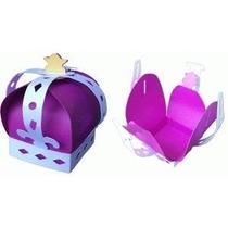 30 Cajas Corona De Principe Princesa. Xv Años Mesa De Dulces