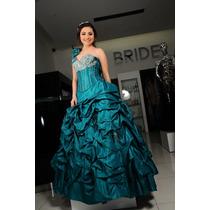 Vestido De Xv Años Color Esmeralda
