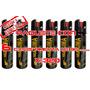 Gas Pimienta Lacrimogeno 90 Grs. Paquete De 6 Piezas Tactico