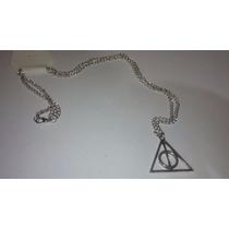 Collar Saga Harry Potter Y Las Reliquias De La Muerte Plata