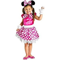 Disfraz Disney Mickey Mouse Clubhouse Rosa Minnie Shimmer Ni