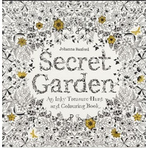 96 Paginas Libro Dibujo Mandala Contra Stress Secret Garden