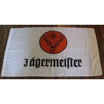 Bandera Jagermeister 150x90cm Club Licor Hierbas Aleman Bar
