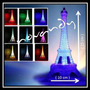 Torre Eiffel De Luz Led Recuerdo Centro De Mesa Boda Xv Años