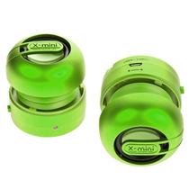 Set De 2 Mini Bocinas Portátil Estereo X-mini Max 2 Green