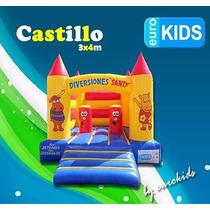 Venta De Brincolines Castillos Y Cajones 3x4m