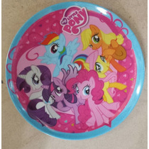 Fiesta My Little Pony Plato Melamina Como Recuerdo