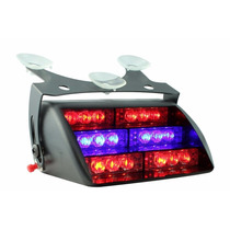 Luces Dt Moto¿ Blue Red 18x Led Police Personal Emergency
