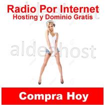 Streaming Radio 200 Users 128 Kbs + Hosting Y Dominio Gratis
