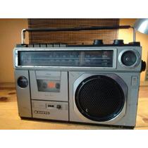Radio Grabadora Sanyo Modelo M24 38 De Cassette
