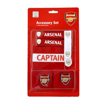 Arsenal Set - Accesorios Football Club Brazalete Pulsera