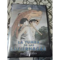 Tumba D Las Luciernagas Estudio Ghibli Dvd Miyazaki Original
