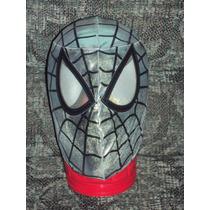 Marvel Mascara Spiderman Armadura Hombre Araña Para Adulto