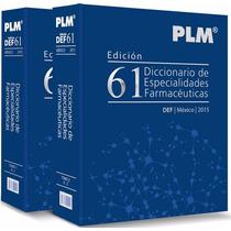 Diccionario De Especialidades Farmaceuticas Plm 2015
