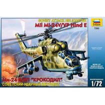 Zvezda Helicoptero Mil Mi24 V/vp Hind E 1/72 Armar Pintar