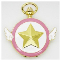 Reloj Sailor Moon Y Sakura Card Captor Con Cadena