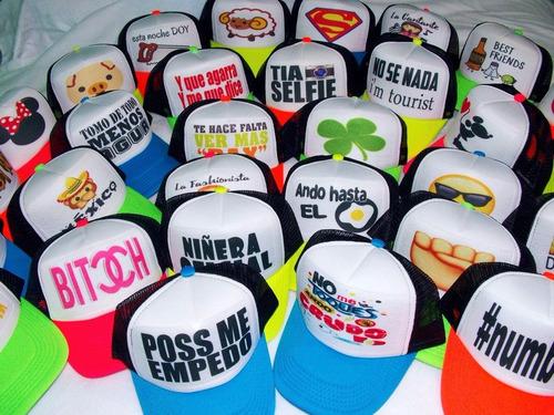 Gorras Personalizadas Cumpleaños Fiestas Bodas Despedidas 05f8e331cc5