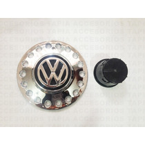 Nuevo Tapón Para Vw Sedan Vocho Tipo Bettle En Cromo Logo Vw