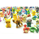 Pokemon 24 Figuras Diferentes Envio Gratis Pikachu Pokeball