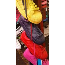Tenis Adidas Supercolors Pharell Y Gorra Abercrombie De Rega