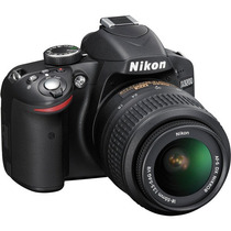 Cámara Nikon D3200 Doble Kit 18-55mm / 55-200mm 24.2mp