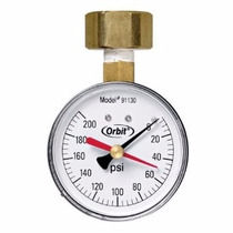 Medidor De Presion De Agua 3/4 0-200 Psi