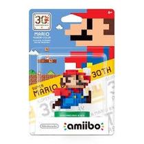 Amiibo Mario 8 Bit Modern Color-30 Aniversario (nacional)