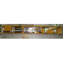 Emblema Letras Liberty