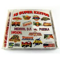 Mexico Df Vs Puebla 15 Super Exitos Sonidero Cd Nuevo 1997