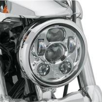 Foco Principal Led Harley Davidson 5.75 45 Watts Cromo