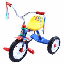Triciclo Apache Rodada 10 Para Niño Y Niña