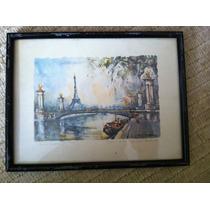 Cuadro Torre Eiffel Por Marcus Girard