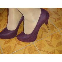 Zapatillas De Color Morado Dorothy Gaynor Talla 26