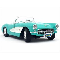 1:18 Chevrolet Corvette 1957 De Coleccion Metalico Italia