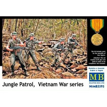 Soldados Modelo - Jungle Patrol Vietnam Series Guerra 1:35