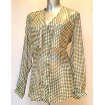 Blusa De Gasa (blusa De Mujer, Camisa De Dama, Blusa Vestir