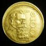 Moneda Error 100 Pesos Carranza Descentrado Troquel %