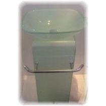 Lavabo Axcent Cristal Jd4 40x38x72cm