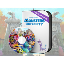 Ki-041 Kit Imprimible Y Editable Monsters Inc. University